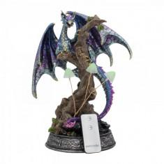 Statueta cu led dragon Limentis 33.5 cm
