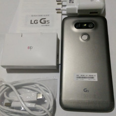 LG G5 32Gb nou garantie 24 luni, Gri, Neblocat, Single SIM