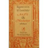 Arte & meserie: Versuri vechi & noi - Romulus Vulpescu