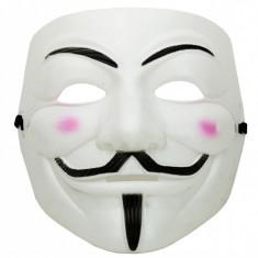 Masca Guy Fawkes alb
