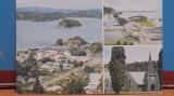 NOUA ZEELANDA -PALHIA, NORTHLAND - 3 VEDERI DIN ORAS CU IMPREJURIMI- 24/15 mm -