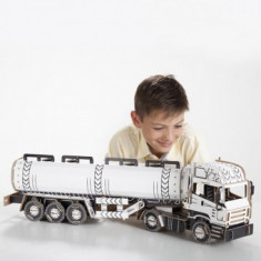 Joc creativ Copii Have Fun 3D Fuel Truck