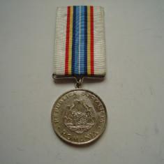 Medalia RSR Pentru Servicii deosebite aduse in apararea oranduirii sociale