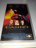 VHS-Film Casino cu Robert De Niro,Sharon Stone si Joe Pesci