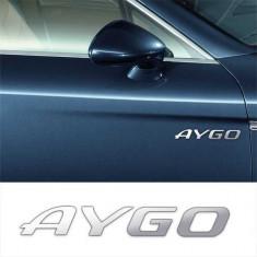 Stickere laterale CHROME - AYGO (set 2 buc.)