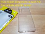 Husa silicon trasparent Huawei P30 Pro  calitate si ieftin la pret, Alt model telefon Huawei, Transparent