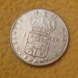 Suedia - 1 coroana - 1973 (monedă, M0019)