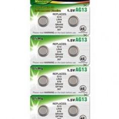 Set 10 baterii AG13 Camelion Alkaline