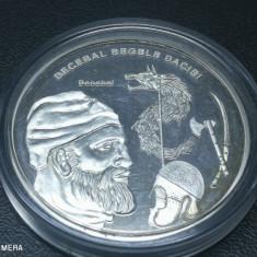 Romani Mari medalie argint pur Decebal