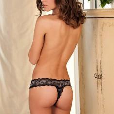 Chilotei Sexy Decupati, Negru, S/M