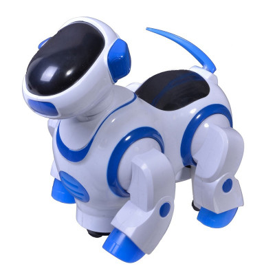 Jucarie catel robot Dancing Dog, lumini si sunete foto