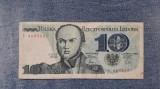 10 Zloti 1982 Polonia Zlotych Bem Jozef