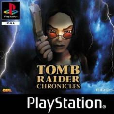 Joc PS1 Tomb Rider Chronicles - B