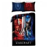 Lenjerie de pat copii Cotton Warcraft WCM-0025-200 x 140 cm