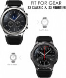 Curea silicon 22mm Samsung Galaxy Watch 46mm, Gear S3 Huawei watch GT