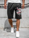 Pantaloni scurți negri bărbați Bolf QN254A