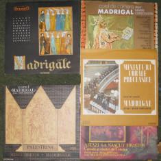 7 vinil Corul de cameră Madrigal,si separat la preturile din descriere