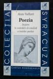 Alain Vaillant - Poezia: inițiere în metodele de analiză a textelor poetice