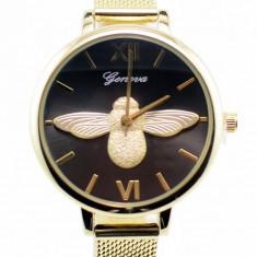 Ceas dama elegant Geneva Gold GV17GTN
