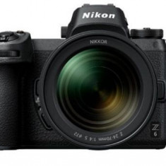 Aparat Foto Mirrorless Nikon Z6, 24.5 MP, Filmare 4K, Wi-Fi, Bluetooth + Adaptor FTZ (Negru)