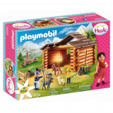 Set de Constructie Peter la Grajdul Caprelor - Heidi, Playmobil