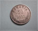 50 bani 1873, frumos