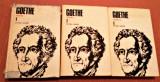Opere Volumele 1+2+3 (Poezia si Teatru). Editura Univers, 1984 - Goethe