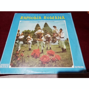 DISC VINIL VINIL RAPSODIA ROMANA THE ROMANIAN FOLK MUSIC ENSEMBLE