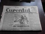Ziarul Curentul , director Pamfil Seicaru , 29 aprilie nr.1881/1933