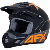 Casca Cross/ATV Copii AFX FX-17YE Negru mat- portocaliu S Cod Produs: MX_NEW 01111304PE