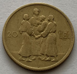 "20 Lei 1930 Hora ""H"", Alama, Romania, RARA!"