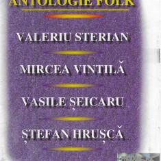 Caseta Antologie Folk vol.1, originala