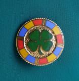 Insigna tema patriotica - Patidul national taranesc - aripa presupus legionara