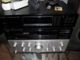 Amplificator Kenwood KA-601 , 2 x 60 W - 8Ω, 2 masti la butoane compatibile, 41-80W