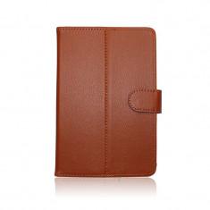 Husa Stand Tableta 9.7 inci Univsersala Brown