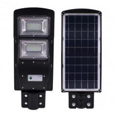 Lampa solara Stradala 60W, cu 80 LED si Telecomanda TI