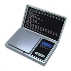 Cantar pentru bijuterii, 200 g, LCD, functie TARE