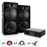 """Cumpara ieftin Electronic-Star DJ PA set complet """"Phuket Pulsar"""" amplificator și 2x boxe"""