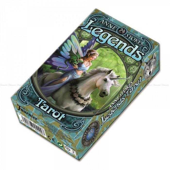 Carti Tarot Fournier, Anna Stokes Legends Tarot