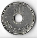 Moneda 50 yen 1964 - Japonia