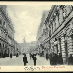 Carte Postala Circulata 1903 BUKOWINA Bucovina Gruss Aus CZERNOWITZ Cernauti, Fotografie
