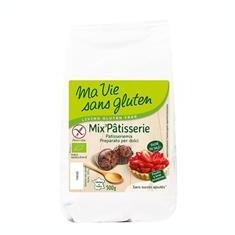 Amestec Bio pentru Patiserie Fara Gluten Ma Vie Sans Gluten 500gr Cod: 3380380057663
