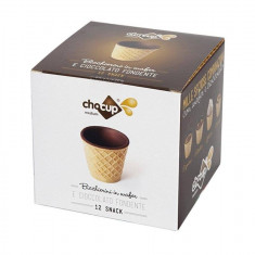 Pahar Comestibil Chocup Medium 60 ml - 12 buc/cutie