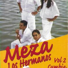 Caseta Meza Los Hermanos – Vol 2 - Cumbia, original