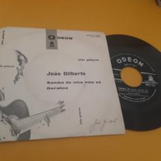 VINIL JOAO GILBERTO-SAMBA DE UMA NOTA SO/DORALICE 1962 DISC ODEON STARE EX