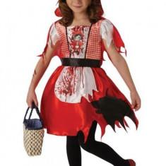 Costum de carnaval - Scufita Rosie infricosatoare M/L