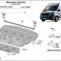 Scut motor metalic Mercedes Sprinter Tractiune Fata 2018-prezent