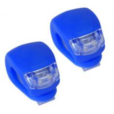 Set Licurici Silicon Lumina Alb + Rosu 4 FunctiiPB Cod:MXR50002.5