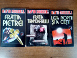 David Morrell – trilogia Sanctiunea Abelard (v. foto) + Testament (bonus)
