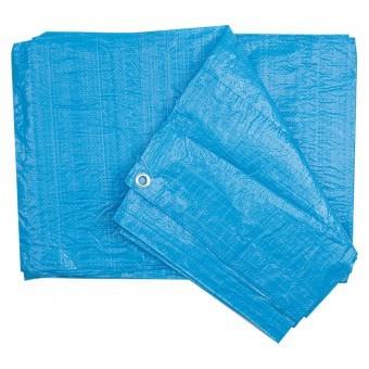 Prelata polipropilena, 4x6m, albastru, Vorel 85050 foto